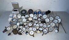 Lot Of 65 Vintage Analog Panel Meters Art Deco Gauges Emico Ashcroft Lenz Gast