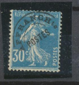 FRANCE-Preo-N-60-30c-bleu-N-signe-CALVES-Cote-250-P2138