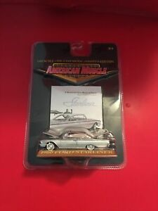 2000 THE ERTL COMPANY AMERICAN MUSCLE - 1960 FORD STARLINER  1:64 Diecast Model