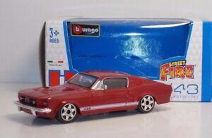 Bburago-30000-Ford-Mustang-GT-034-Red-034-METAL-Scala-1-43