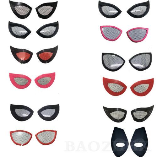 10 Style Spiderman Lenses Spider Lens Eye Mask Cosplay Costume Props Halloween