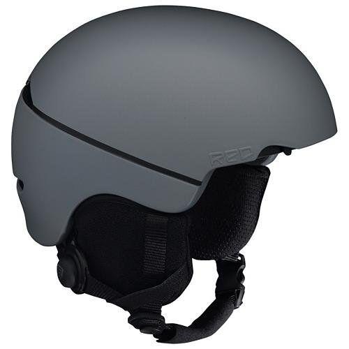 53-57 CM RED by Burton Prime Ski Snowboard Helmet Satin Gray XS//S New!