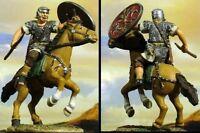 CONTE LTD. PEWTER ROMAN EMPIRE SPQR004 MOUNTED CAVALRYMAN #1 MIB