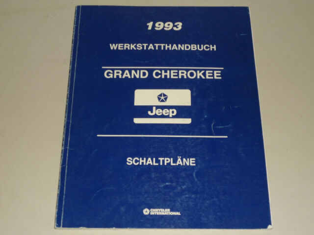 Workshop Manual Repair Manual Wiring Diagrams 1993 Jeep