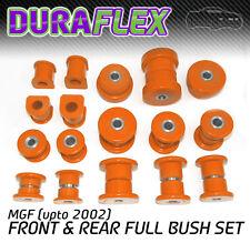 MGF (hasta 2002) Frente y Parte trasera Bush conjunto naranja Duraflex De Poliuretano