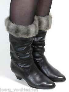 Leder-Vintage-Stiefel-Damenstiefel-Blogger-Fakefur-Winterstiefel-Libelle-36-5-37