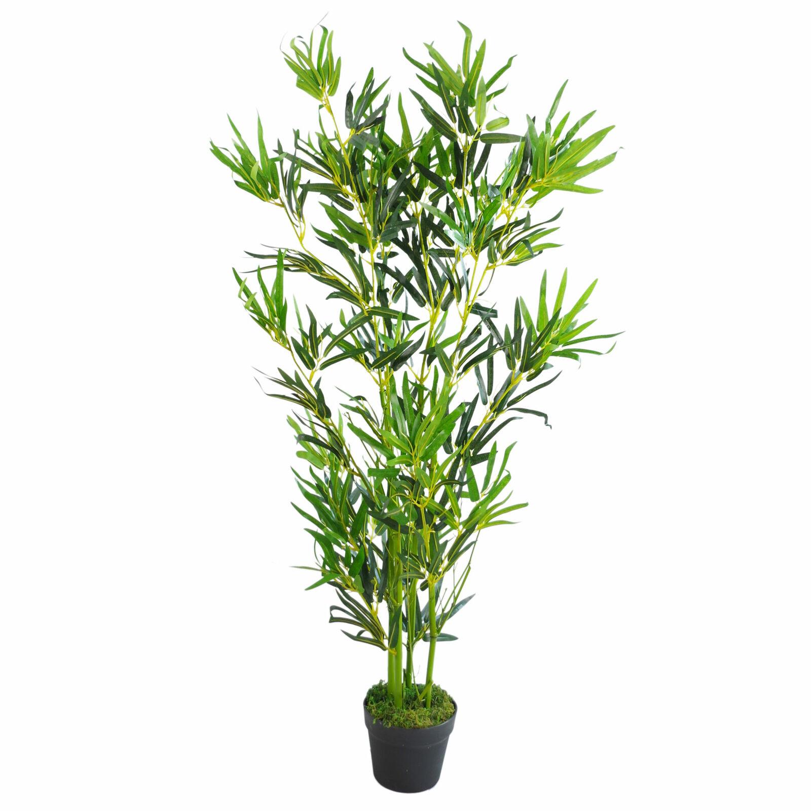 120cm (4ft) Natürlich Künstlich Bambus Pflanzen Bäume - XL Leaf-7096