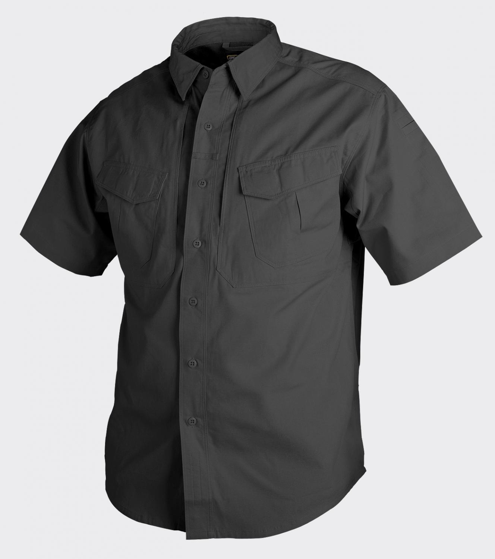 Helikon TEX  DEFENDER Manga Corta Camisa Manga Corta Al Aire Libre Negro L grande  suministramos lo mejor