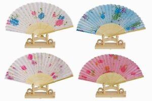 Assortment of one dozen (12) Oriental Feng Shui Hand Fan-LADY'S FAN