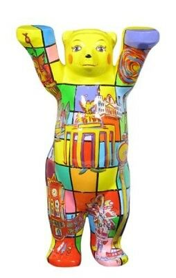 Gift Carton Wide Varieties Decorative Arts Antiques Logical Buddy Bear Berlin Rectangle New Small 2 3/8in Motifs East