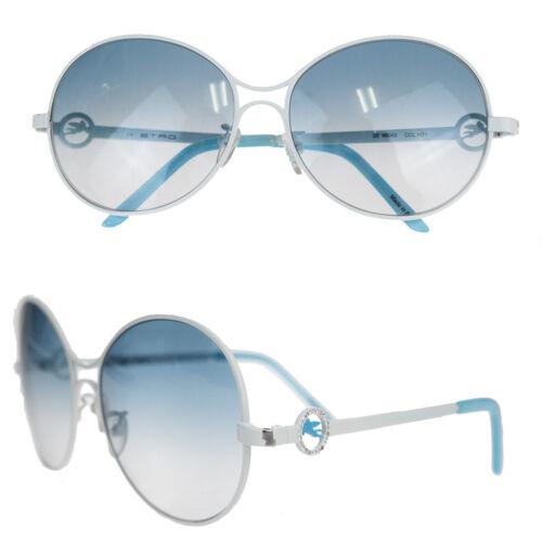 Auth Etro Sunglasses Light Blue,White 03GC445
