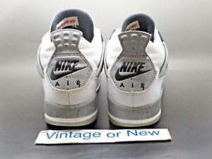 c14a39aaa681f4 Nike Air Jordan IV 4 White Cement Retro 2016 OG BG 836016-192 sz 6.5 ...