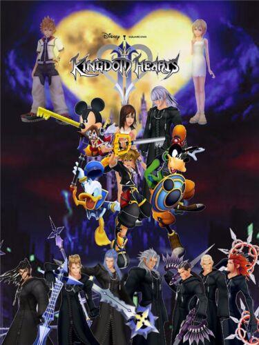 "Kingdom Hearts 2 Boy Game Wall Poster 17/""x13/"" K022"