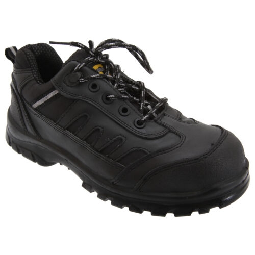Grafters Mens Fully Composite Non-Metal Safety Work Trainers Shoes DF654
