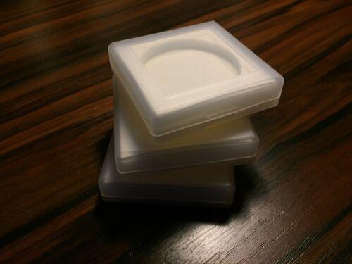 4 x Filterbox  Aufbewahrung für optische Filter Linsen Farbfilter UV IR Filter