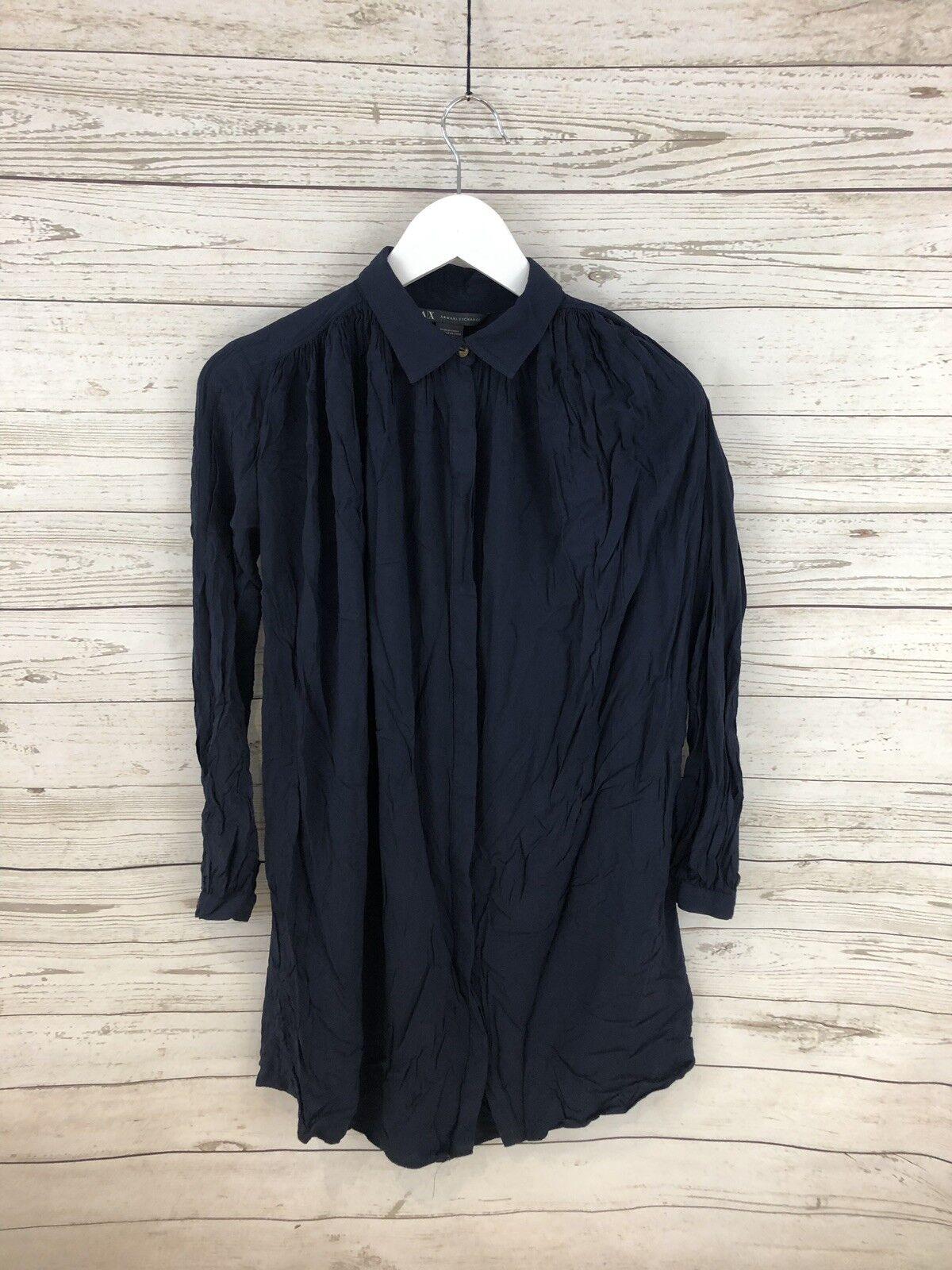 ARMANI Dress - Size XXS - Navy - Great Condition - Women's