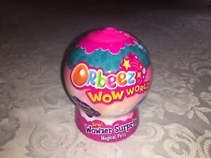 3 x ORBEEZ WOWZER PETS WOW WORLD SURPRISE BLIND PACKS NEW SEALED