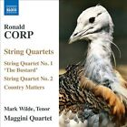 """Ronald Corp: String Quartets Nos. 1 """"The Bustard"""" & 2; Country Matters (CD, Feb-2011, Naxos (Distributor))"""
