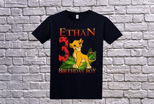 Lion King Family Custom Birthday Shirt Personalized T-Shirt