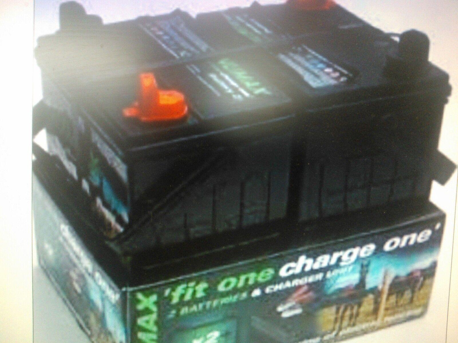 Cochega de ajuste uno uno  cerca Eléctrica Batería 12V 32AH 2 X Baterías Y Cochegador Numax  wholesape barato