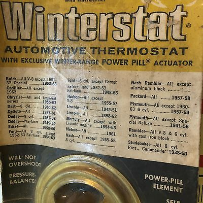 1953-58-66 Buick Cadillac Ford Chrysler Studebaker NOS Harrison 278P Thermostat
