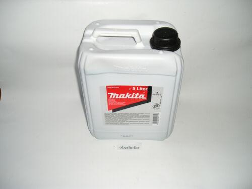 Makita Sägekettenöl 5 L Makita Haftöl Kettenöl Sägekettenöl Kettensäge 1L//3,998