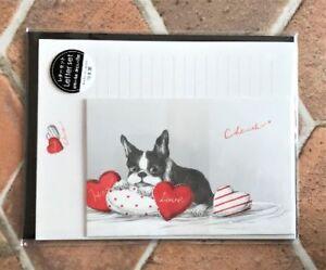 Letter-Sheet-Envelope-Set-French-Bulldog-Dog-Stationery-Japanese