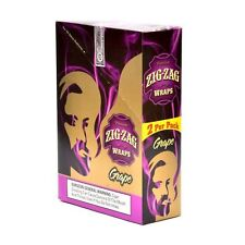 ZIG ZAG WRAPS 2 PER PACK GRAPE FLAVOR PACK OF 25