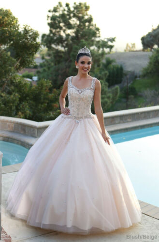 QUINCEANERA BEAUTY PAGEANT GOWN SWEET 16 PRINCESS GALA BALL DANCE DRESSES SALE