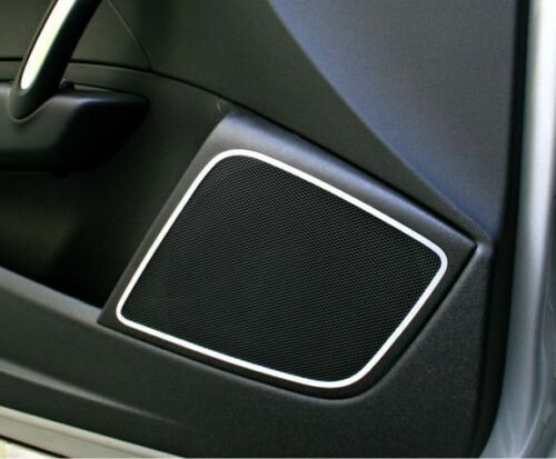 Audi A1 8X S1 Sportback Zierblende Alu Boxen Lautsprecher Tür Türlautsprecher