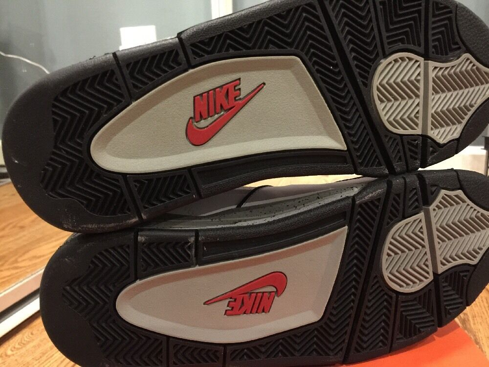 Nike air flug 89    8 footaction brandneue zement n selten iv 8d16d8