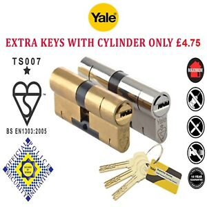 Yale-Superior-Anti-Snap-Bump-Pick-High-Security-Euro-Cylinder-uPVC-Door-Lock