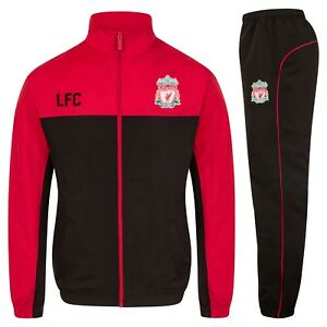 Liverpool-FC-Official-Football-Gift-Mens-Jacket-amp-Pants-Tracksuit-Set
