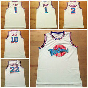 New Jerseys Space Jam Basketball Jersey Tune Squad Of LOONEY TOONES Basketball