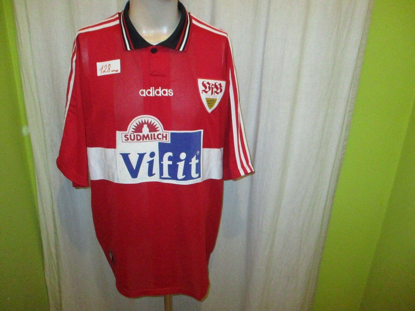 VFB Stuttgart adidas Away Jersey 1996 97  ViFit südmilch  Größe XXL Top