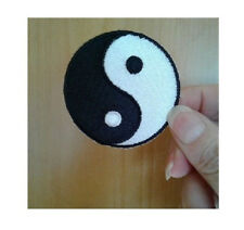 Cool Black /& White Yin /& Yang Symbol Jacket Patch Emblem Chinese Philosophy 66Z9