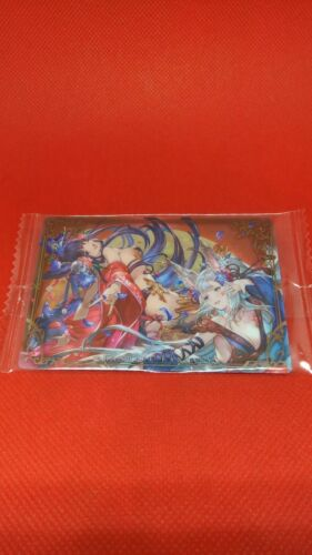 Yuel Societte Granblue Fantasy Wafer Trading Card Mobile Game Hobby Collection