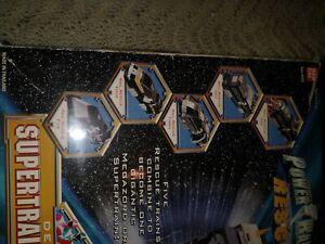 Power Rangers LightSpeed Rescue Deluxe SuperTrain MegaZord in box