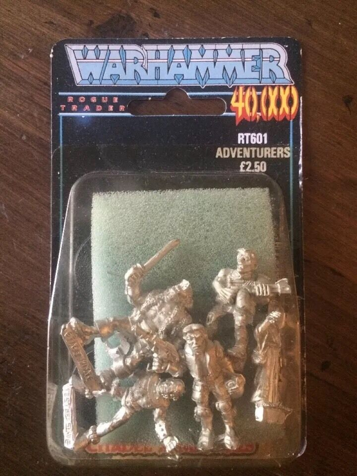 Rogue Trader Adventurers  X5 RT601 New Blister Very Rare WARHAMMER  40k