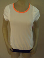 Kyodan Tennis Shirt Top Womens Xs White