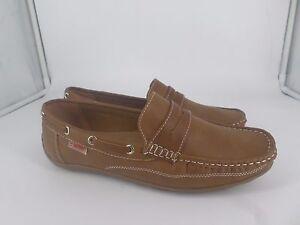 Confort Soft Cushioned Brown Deck Shoes UK 6 EU 39 LG08 58