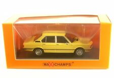 BMW 520 (yellow) 1974