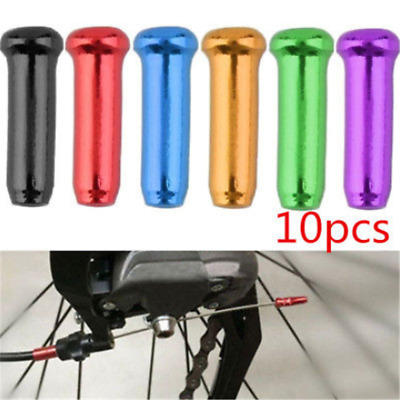 10Pcs  Bike Brake Shifter Gear Inner Cable Wire End Cap Bicycle Derailleur MTB G