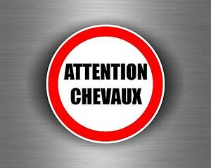 Autocollant-sticker-voiture-moto-attention-chevaux-cheval-panneau-signalisation
