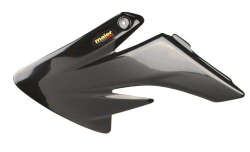 NEW HONDA CRF 100F 04-12 BLACK PLASTIC MOTORCYCLE RADIATOR AIR SCOOPS CRF100F