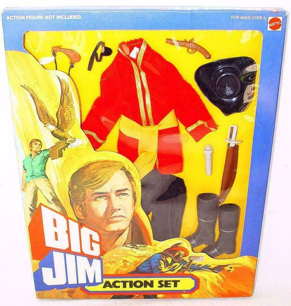 BIG JIM ADVENTURE SETS      PIRATE CAPTAIN OUTFIT    2197   CARDED SUPE RARE