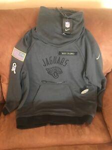 sale retailer 9e57d e60a0 Details about nike jacksonville jaguars Salute To Service NFL Swaeter NWT  SiZe XL Women