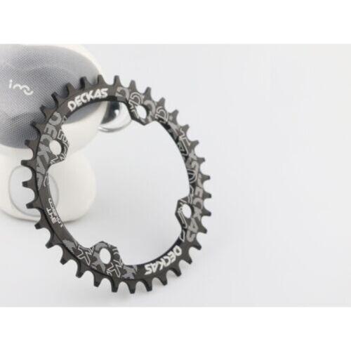 UK Stock 104mm MTB Round Oval Narrow Wide Chainring 32//34//36//38T Bike Chainwheel