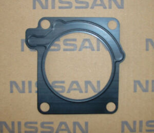 Image is loading Nissan-16175-75T01-OEM-Throttle-Body-Gasket-RB25DET-