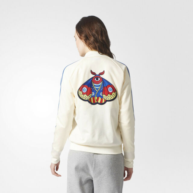 Adidas Women's Arts Originals Embellished Sst Jacket Track 2017 6qwd7XUx6